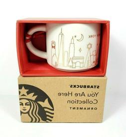 Starbucks You Are Here 2 oz New York Holiday Christmas Mini