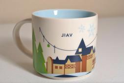 """Starbucks """"You Are Here"""" Coffee Mug YAH - Vail Colorado"""