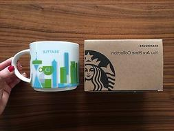 Starbucks You Are Here Collection Mug Seattle Limited 14oz Y