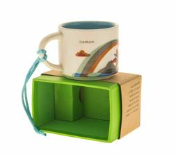 STARBUCKS YOU ARE HERE COLLECTION ORNAMENT HAWAII COLLECTIBL