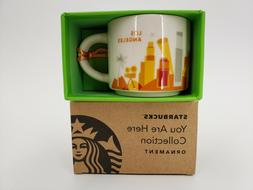 STARBUCKS YOU ARE HERE COLLECTION ORNAMENT LOS ANGELES COLLE