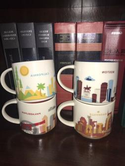 Starbucks You Are Here Mug Set/Bundle