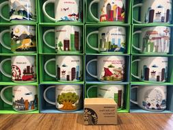 Starbucks YOU ARE HERE YAH Collection Ornament, Mini Mug Lim