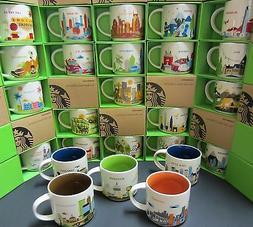 Starbucks YOU ARE HERE ~YAH~ RETIRED - City Mug - YOU PICK M