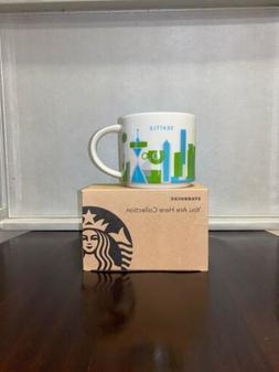 Starbucks You Are Here YAH Series Seattle Mug NEW 14oz ~ Dis