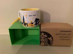 Starbucks You Are Here Collection New York Ornament