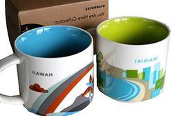 You Are Here: Waikiki and Hawaii Mug Set